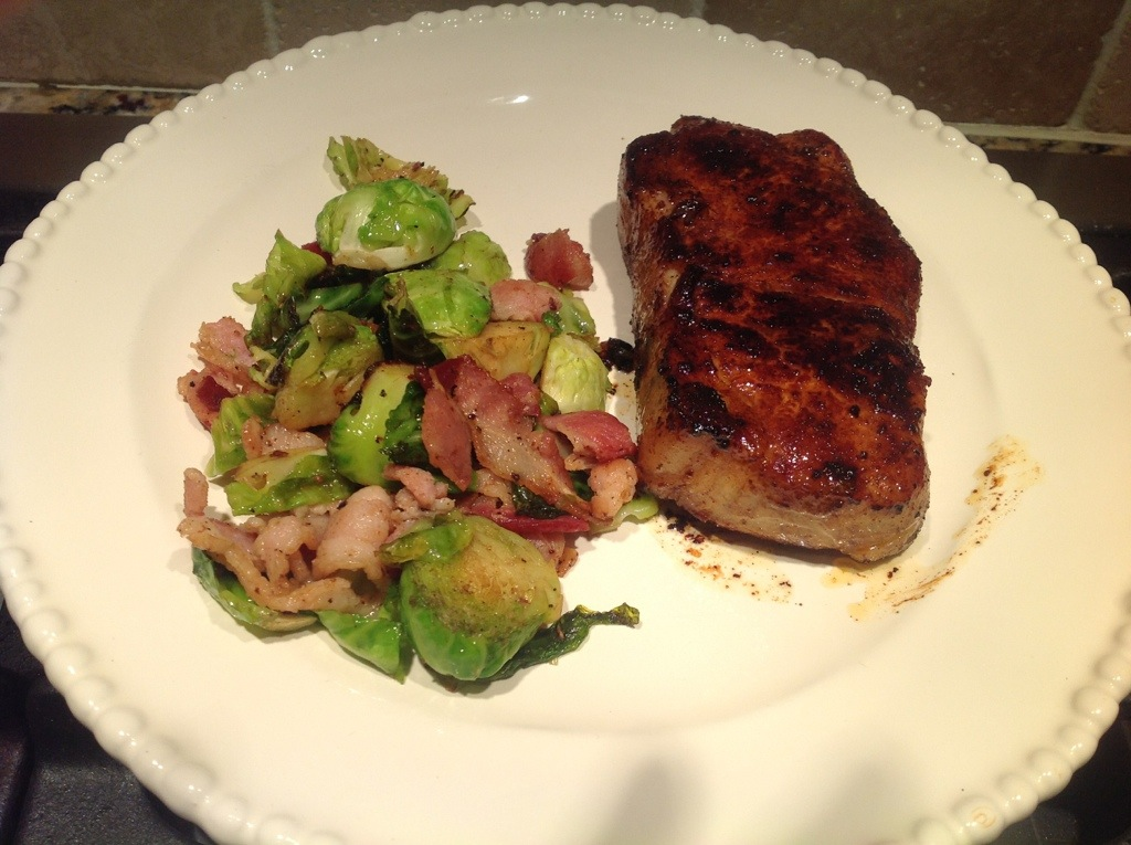 Honey balsamic glazed pork chops - Fit Paleo MomFit Paleo Mom