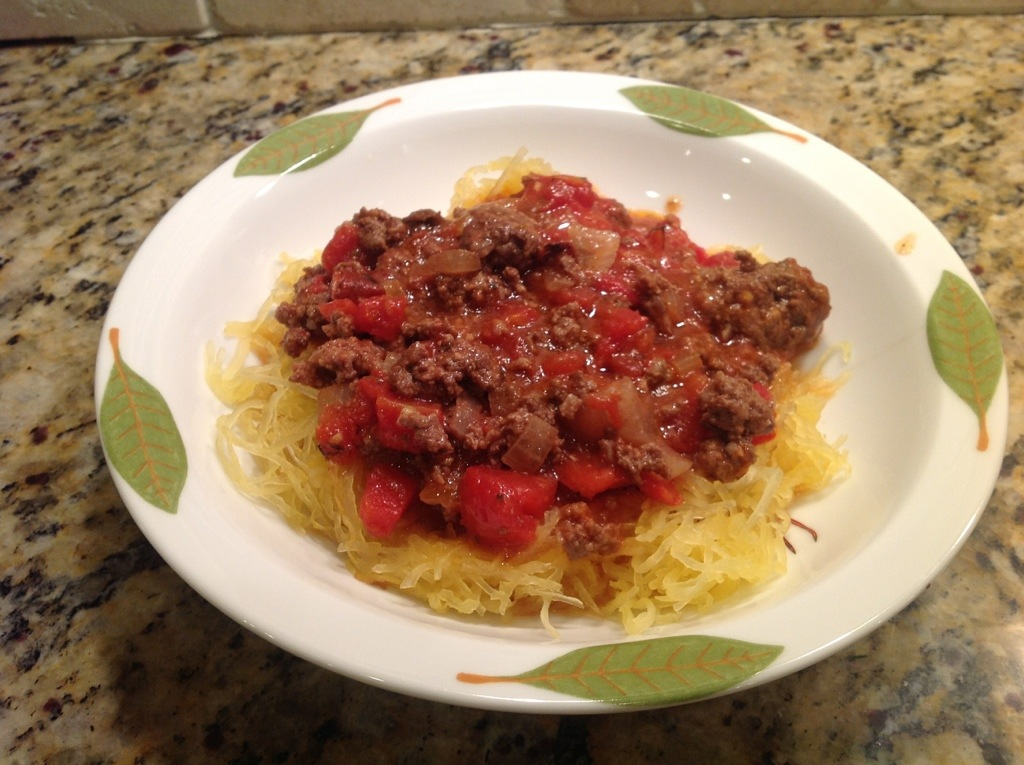 in Beef and tagged paleo spaghetti , Paleo spaghetti and meat sauce ...